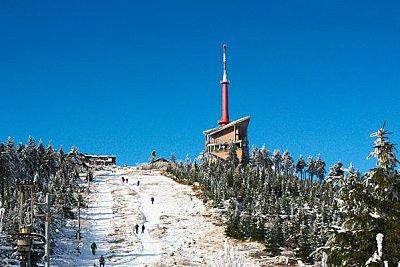 Můj první letošní sníh na Lysé hoře