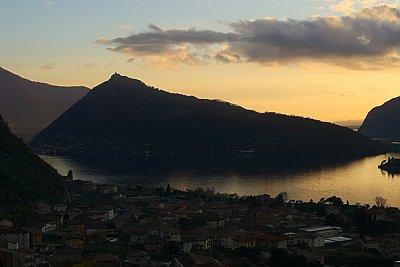 Itálie - Bergamo, Lago d'Iseo