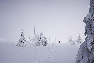 Neúspěšný přechod Hrubého Jeseníku na skialpech