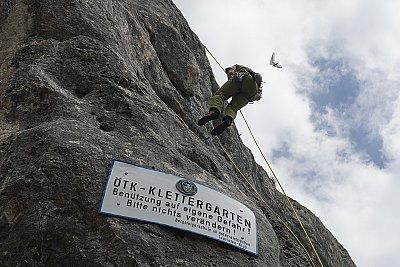 Víkendové lezení na Hohe Wand