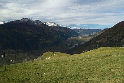 Itálie - Jižní Tyrolsko - jídlo, víno, hory
