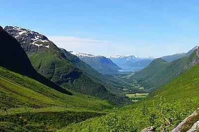 Stopem po středním Norsku